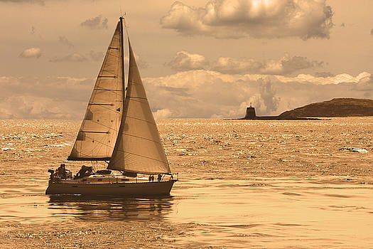Sailing on a Sea of Gold by Mark Hendrickson