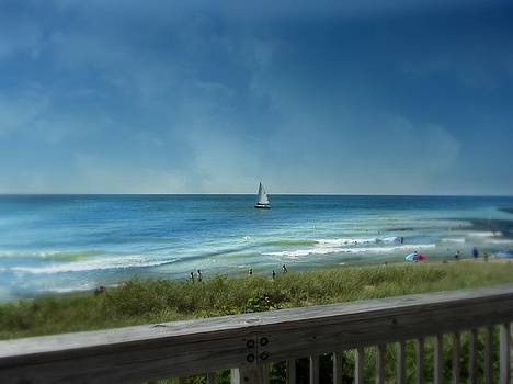 Sailing on Lake Michigan by Sue Midlock