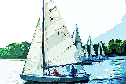 Sailing On The Ottawa River by Michael Arend