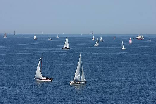 Sailing Paradise by Juozas Mazonas