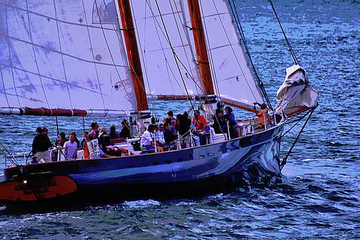 Sailing Posterized by Maria Keady