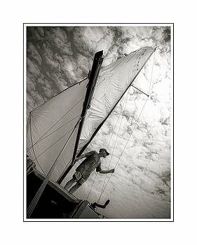 Sailing by Scott Fracasso