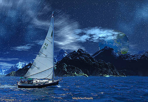 Sailing the Sea of Tranquility by David Jackson