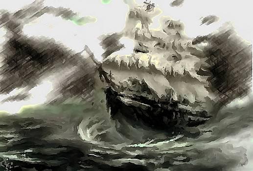 Sailing the Stormy Seas by Mario Carini
