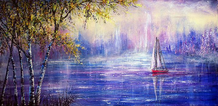 Sailing Through a Dream by Ann Marie Bone