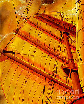 Sailing Through Gold by Anthony Dunphy