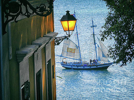 Sailing Through San Juan by Mariola Bitner