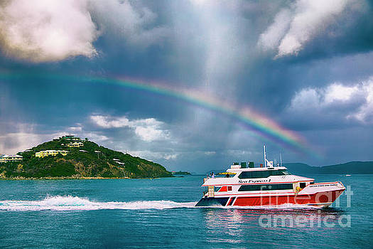 Sailing Under the Rainbow by Mariola Bitner