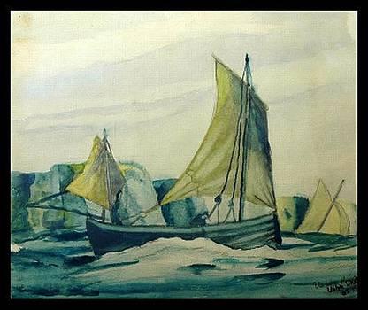 Sailing by Usha Rai
