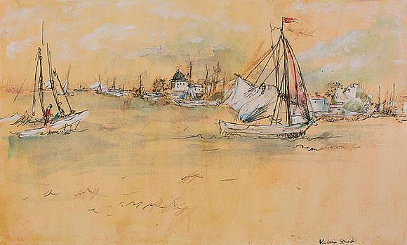 Sailing by Victoria Stavish