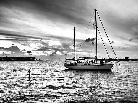 John Rizzuto - Sailing with Friends at Key West