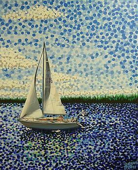 Alan Hogan - Sailing with Olivia