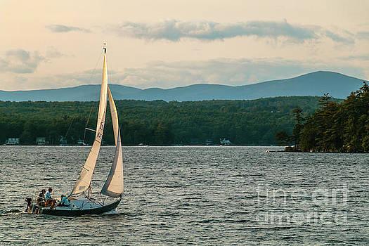 Sailing Wolfeboro N H by Mim White