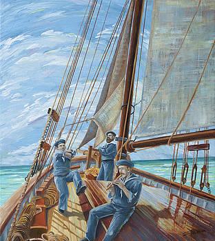 Sailor's Hornpipe by Paula Blasius McHugh