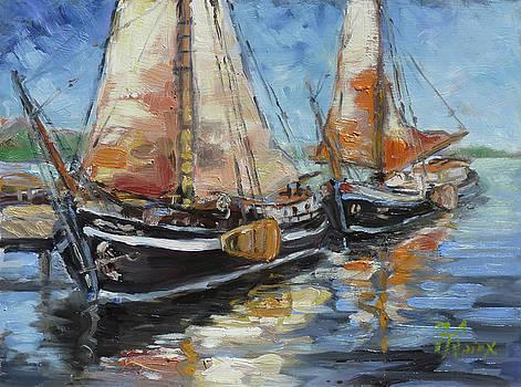 Sails 13 by Irek Szelag