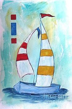 Sails 2 by Karen Day-Vath