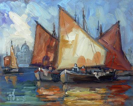 Sails 2 - Venice by Irek Szelag