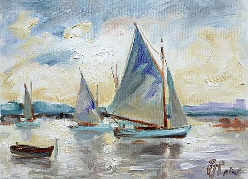 Sails 3 by Irek Szelag