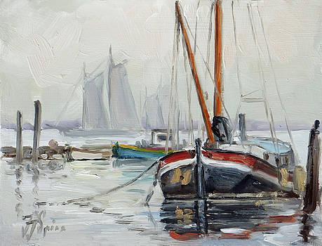 Sails 5 - Dutch canal by Irek Szelag