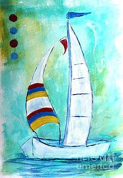 Sails I by Karen Day-Vath