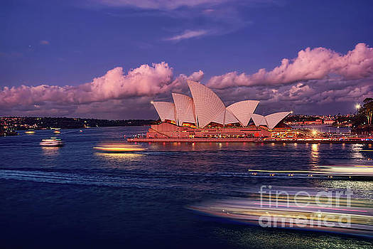 Sails in the Clouds by Kaye Menner by Kaye Menner