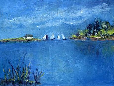 Betty Pieper - Sails off the Cape