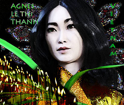Saint Agnes Le Thi Thanh  9 by Suzanne Silvir