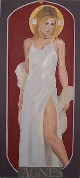 Saint Agnes by Stephen Panoushek