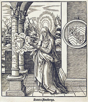 Leonhard Beck - Saint Amelberga
