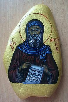Saint Anthony by Larisa M