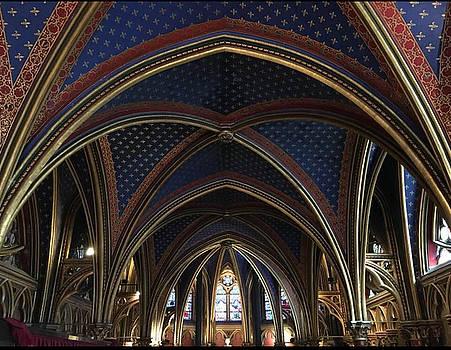 Saint Chapelle Arches by Daniele Smith