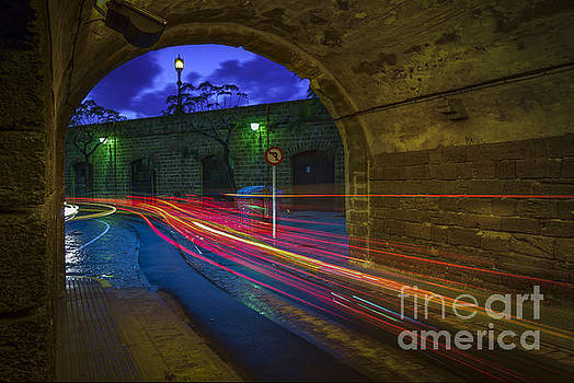 Saint Charles Walls Tunnel Cadiz Spain by Pablo Avanzini