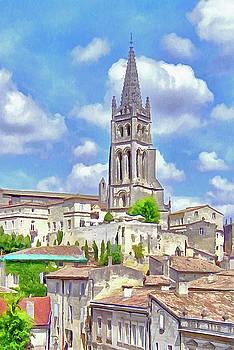 Saint Emilion Monolithic church by Bishopston Fine Art