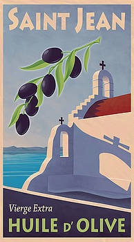 Saint Jean Olive Oil by Mitch Frey