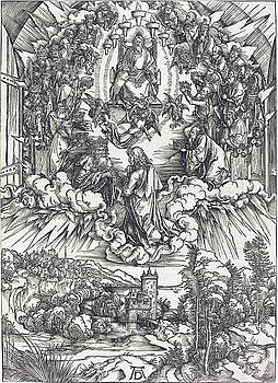Albrecht Durer - Saint John before God and the Elders