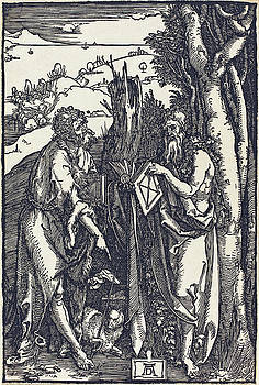 Albrecht Durer - Saint John the Baptist and Saint Onuphrius