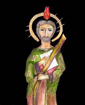 Saint Jude by Myrna Migala