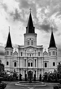 Saint Louis Cathedral 003 by George Bostian