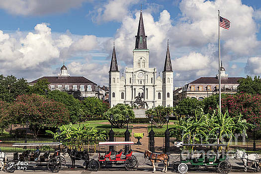 Saint Louis Cathedral by Jeffrey Stone