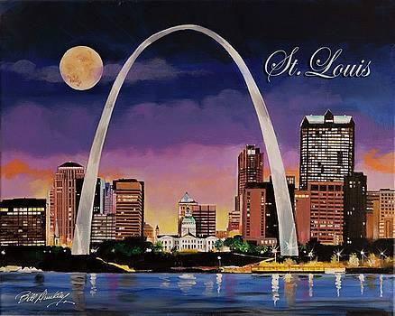 Saint Louis Skyline by Bill Dunkley