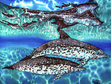 Saint Lucia Wild Dolphins by Daniel Jean-Baptiste