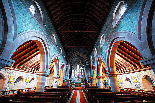 Saint Marys Church Interior by Svetlana Sewell