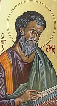 Saint Mathew by George Siaba