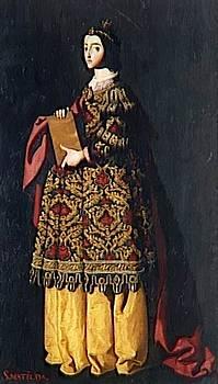 Zurbaran Francisco de - Saint Mathilda