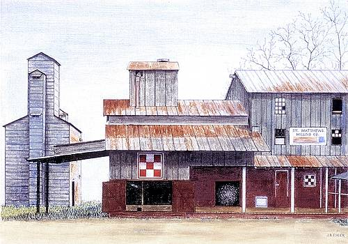 Saint Matthews Milling Co. by Jean Ehler
