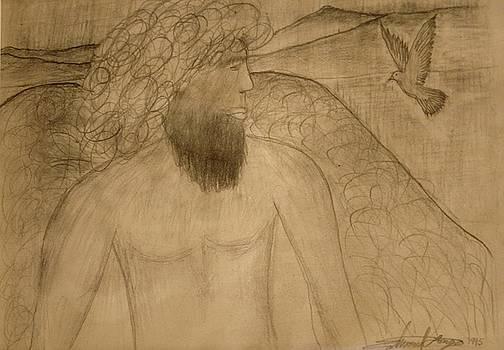 Saint Michael The Archangel by Edward Longo