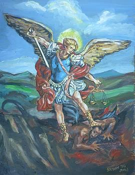 Bryan Bustard - Saint Michael Version Three
