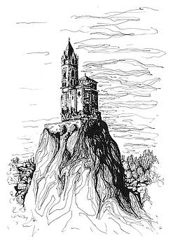 Saint-Michel d'Aiguilhe by Katerina Kopaeva