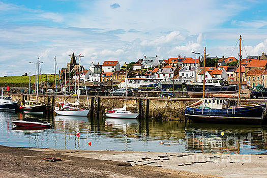 Saint Monans Harbour by MaryJane Armstrong