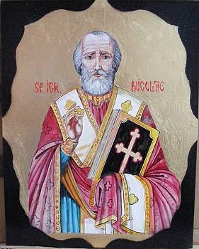 saint Nicolas by Ciocan Tudor-cosmin